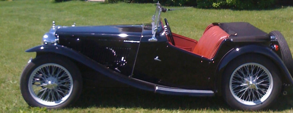THE ONTARIO MG T REGISTER