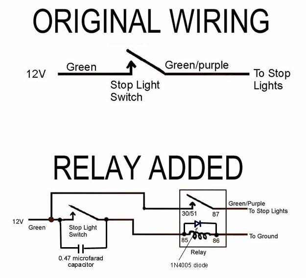 BrakeLightRelay_Pos wiring diagram for one switch and two lights 11 on wiring diagram for one switch and two lights